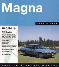 Gregory's Service Repair Manual Mitsubishi Magna TP Series 89-91 OWNERS WORKSHOP