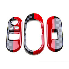 Power Window Switch+Center Console Panel Covers For Mini Cooper F55 F56 JCW A07