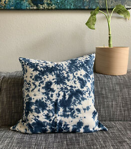 SOLD OUT🔥ROOST Home Shibori Indigo Blue Pillow Covers Case 1-4 !!BNWT!! $75MSRP