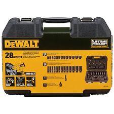 DeWALT DWMT19244 28 Piece 1/2 in Drive Standard & Deep Impact Socket Set NEW