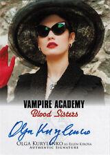 Vampire Academy Blood Sisters Autograph Card A-OK1 Olga Kurylenko as Kirova