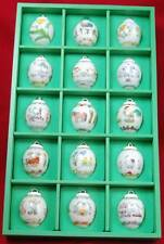 Hutschenreuther Collector Spring Summer Ornaments by Ole Winther Set of 15 Vtg