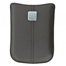Genuine OEM Blackberry Leather Pouch Case HDW-19862-002 For Bold 9780 9700 8520
