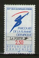 STAMP / TIMBRE FRANCE NEUF N° 2732 ** JEUX OLYMPIQUES D'HIVERS LA FLAMME