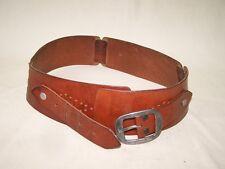 Vecchio Cintura pelle Anni ' 70 Culto Design retrò ampia, vintage