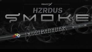 "Hzrdus Smoke Black 5.5 60g Driver Shaft Brand New Uncut 46"" .335 Tip"