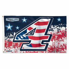 Kevin Harvick Nascar Patriotic 3x5 Foot Flag and Banner