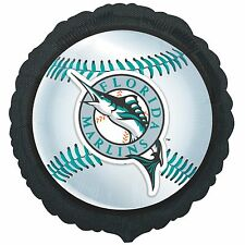 Florida Marlins Baseball Foil Balloon Licensed Tailgate Birthday Party