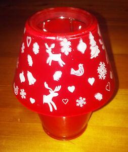 Xmas Tea Light bedside Lamp Style Candle