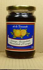 340gr./12oz. Orange Marmalade/confiture d 'reds de la grenade de Grenade
