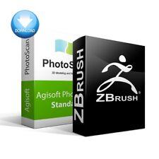 Metashape Standard + ZBrush Bundle, Vollversion-Download (Win)