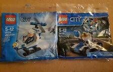 Lego City Helecopter and Lunar Rover Polybags 30226 30315