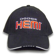 Dodge Hemi Licensed Cotton Sandwich Brim Black Hat
