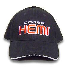 Dodge Hemi Licensed Cotton Sandwich Brim Black Hat