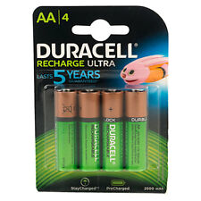 Duracell 5000394203853 ACTIVE AA 4PK Rechargeable Batteries 2500mAh (Pack of 4)