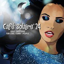 Cafe Solaire 24   2CDs 2016 Sambox Lemongrass