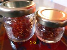 Pur Safran de Taliouine 100% biologique & naturelle 1 G . PRODUCTION FAMILIALE