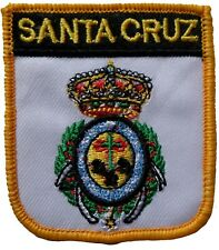 Santa Cruz de Tenerife Spain Shield Embroidered Patch