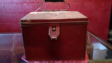 Vintage Railroad Conductors Box Original Patina