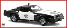 MINRFB*VERY*ULTRA*RARE*FRANKLIN*MINT*1977*PONTIAC*F*O*P*TRANSAM*POLICE*CAR*1:24