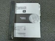 John Deere 310E Backhoe Loader Shop Service Repair Technical Manual TM1649