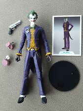 "McFarlane Toys DC Multiverse The Joker Batman Arkham Asylum 7"" figure loose"