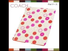 NWT *RARE* AUTHENTIC $168 COACH PINK RED FLORAL PRINT IPAD TRI CASE F67805