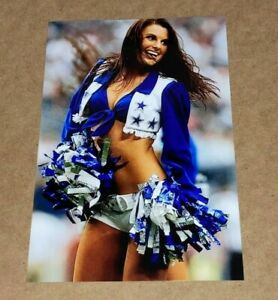 DALLAS COWBOYS sexy NFL CHEERLEADER 🏈 4x6 GLOSSY PHOTO 🏈 hot picture (#G261)
