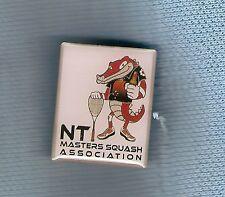 #D202. Northern Territory Squash Masters Association Lapel Badge