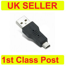 Standard USB Type A to Mini Type B Male to Male Converter Adapter USB Mini USB