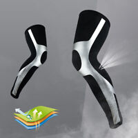 Men's Compression Full Leg Sleeve Knee Brace Thigh and Calf Support Socks US