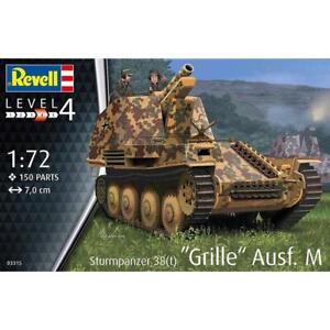 Revell 03315 1/72 Sturmpanzer 38T Grille Ausf M Plastic Model Kit Brand New