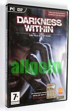 Gioco PC DVD-ROM DARKNESS WITHIN H.P. LOVECRAFT Zoetrope 2009