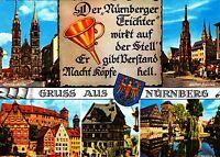 Gruss aus Nürnberg  ,Ansichtskarte, ungelaufen