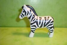 Playmobil : cheval zèbre playmobil 123 /  horse