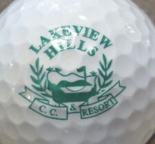 (1) Lakeview Hills Golf Course Logo Golf Ball