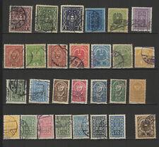 AUTRICHE 28 timbres oblitérés anciens / T2530