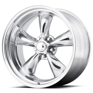 "American Racing VN515 Torq Thrust 2 17x7 5x5"" +0mm Polished Wheel Rim 17"" Inch"
