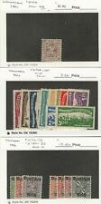 Wurttemberg Germany, Postage Stamp, #O106 NH, O166//O183 Hinged, JFZ