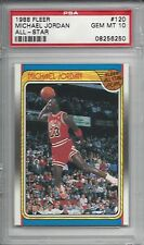 1988 Fleer All-Star #120 Michael JORDAN PSA 10+++ HOF