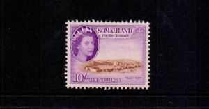 SOMALILAND 1953 10/- BROWN & REDDISH VIOLET SG148 MNH CAT £32
