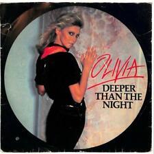 "Olivia Newton-John - Deeper Than The Night - 7"" Record Single"