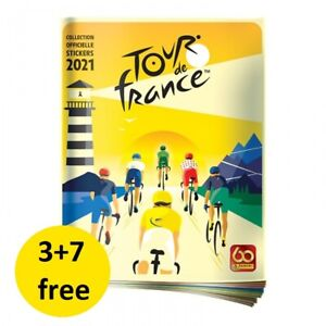 PANINI TOUR DE FRANCE 2021 STICKERS 1-184 AU CHOIX 3+7 FREE !!!