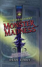 Monster Madness (Nightmare Academy, No. 2) by Dean Lorey