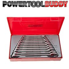 Teng TT1236 12 Piece METRIC Combination Spanner Wrench Set In Case*DPD*