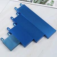 1Pcs aluminium water cooling waterblock liquid cooler heatsink block for cpu BDA