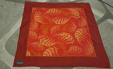Foulard vintage scarf woman 75x75 idra by Trussardi  promo lip 100% poliestere