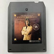 Johnny Rodriguez Greatest Hits (8-Track Tape)