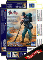 Master Box 35196 A Quick Rest After Battle. Union Army Infantry Sergeant 1/35