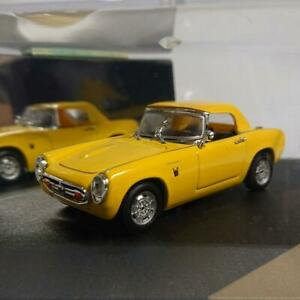 Vitesse Honda S800 RSC Racing Car 1/43 Yellow 1967 Limited Edition of 2000 #4025